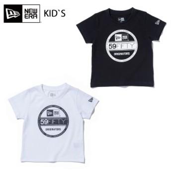 NEW ERA ニューエラ Child コットン Tシャツ バイザーステッカー