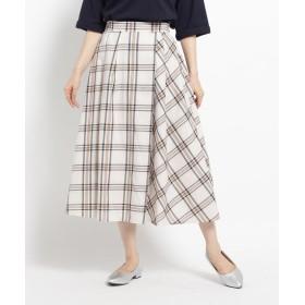 THE SHOP TK(Women)(ザ ショップ ティーケー(ウィメン)) アムンゼンラップミディスカート