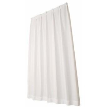 ユニベール ミラーレースカーテン アスリート ホワイト 幅100×丈198cm 2枚組