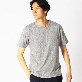 【SALE(三越)】<COMME CA ISM (メンズ)> スペースダイ クルーネックTシャツ(4764TL30) グレー 【三越・伊勢丹/公式】