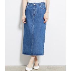 【ロペピクニック/ROPE' PICNIC】 【WEB限定】デニムロングタイトスカート