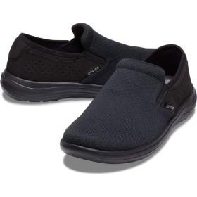 【クロックス公式】 クロックス リバイバ スリップオン メン Men's Crocs Reviva Slip-On メンズ、紳士、男性用 ブラック/黒 25cm,26cm,27cm,28cm,29cm shoe 靴 シューズ