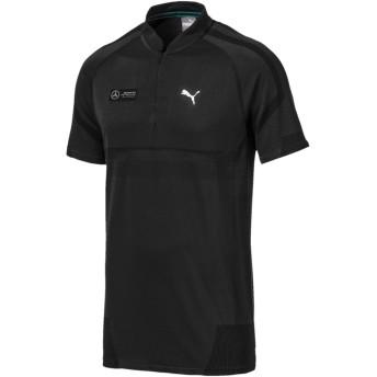 【プーマ公式通販】 プーマ メルセデス MAPM RCT EVOKNIT ポロシャツ 半袖 メンズ Puma Black |PUMA.com