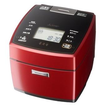 (長期無料保証) 三菱電機 IH炊飯器 NJ-VWA10-R 赤紅玉(あかこうぎょく) 炊飯容量:5.5合