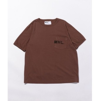 BEAUTY&YOUTH UNITED ARROWS / ビューティ&ユース ユナイテッドアローズ <MHL.> 1POC LOGO TEE/Tシャツ