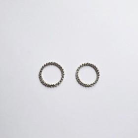 tsubu tsubuリング(L)colour silver