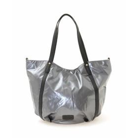MK MICHEL KLEIN BAG 【2WAY】グロスカラートートバッグ トートバッグ,シルバー