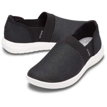 【クロックス公式】 クロックス リバイバ スリップオン ウィメン Women's Crocs Reviva Slip-On ウィメンズ、レディース、女性用 ブラック/黒 22cm,23cm,24cm,25cm shoe 靴 シューズ