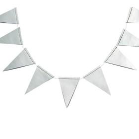 ガーランド Chalk Pennant Banner -Silver Foil 【三越・伊勢丹/公式】