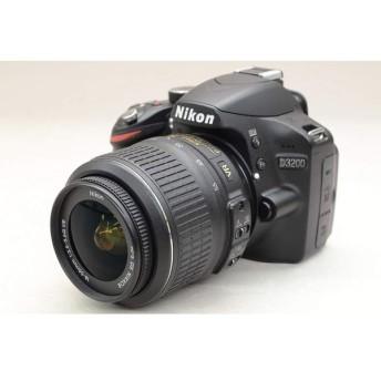 [中古] Nikon D3200 レンズキット ブラック
