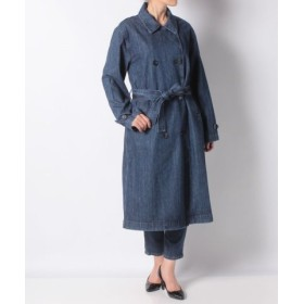 (LEVI'S OUTLET/リーバイス アウトレット)DENIM TRENCH COAT MED AUTHENTIC STONEWAS/レディース ブルー