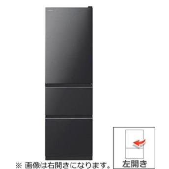【日立】 冷蔵庫 R-V32KVL(K) 300L-ミッドフリ