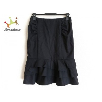 ピンキー&ダイアン Pinky&Dianne スカート サイズ36 S レディース 黒     スペシャル特価 20200305