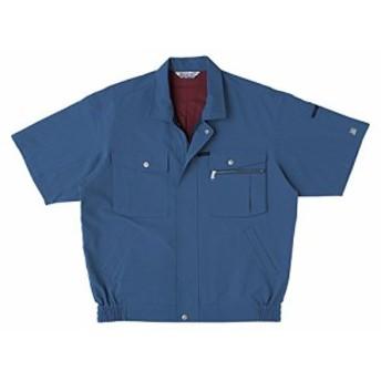SOWA(ソーワ) エコ半袖ブルゾン ブルー 4Lサイズ EC921