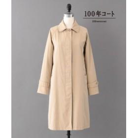 (SANYO COAT/サンヨーコート)<100年コート>エイジドクラシックバルマカーンコート/レディース ベージュ 送料無料