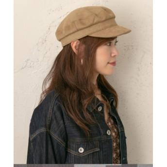 RODE SKO(ロデスコ) 帽子 キャスケット スエードキャスケット