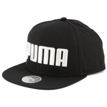 プーマ キャップ プーマ フラットブリム キャップ (021460 01) 帽子 : ブラック PUMA