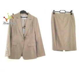 ダブリュービー wb スカートスーツ サイズ38 M レディース 美品 ベージュ  値下げ 20191008