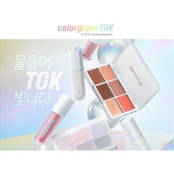 【colorgram: TOK/カラーグラムトック】リップティント/アイシャドウ/チーク/韓国コスメ/オリーブヤング Olive Young IZONE