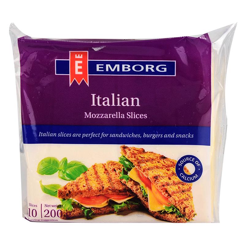 安博格義大利蒙佐利拉乾酪片