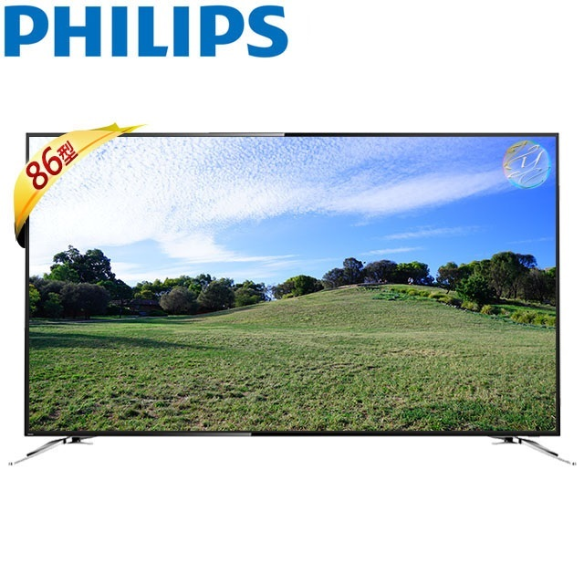 PHILIPS  飛利浦 86吋  86PUH8504  4K UHD  液晶顯示器+視訊盒