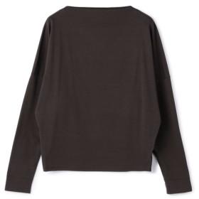 ESTNATION / ロングスリーブTシャツ ダークブラウン/38(エストネーション)◆レディース Tシャツ/カットソー