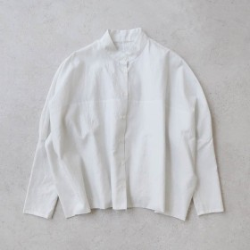 humoresque ユーモレスク|stand collar blouse