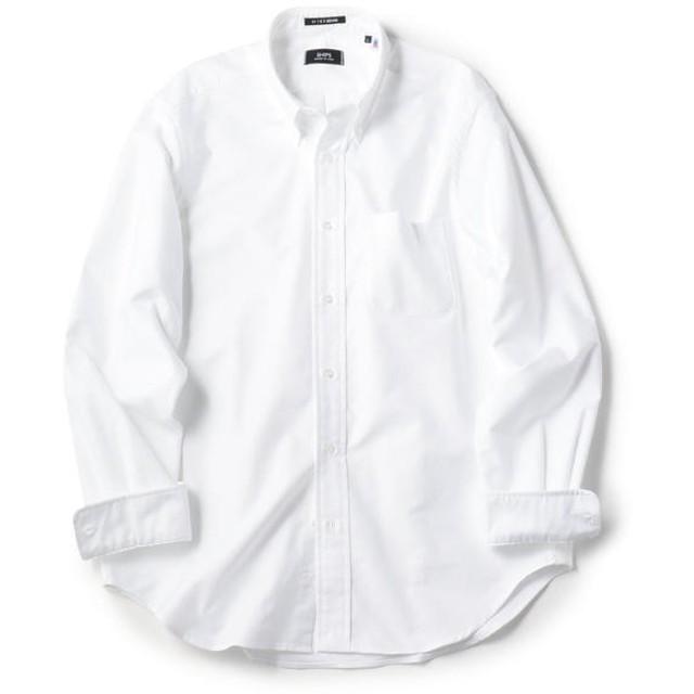 【シップス/SHIPS】 【Begin5月号掲載】SHIPS×IKE BEHAR アメリカ製 オックスフォード ボタンダウン シャツ