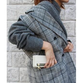 (Sincere/シンシア)〈Kajsa/カイサ〉Detachable Zipper Bag iPhone 6/7/8 Back Case/ジッパーバッグ ケース/ユニセックス ベージュ系
