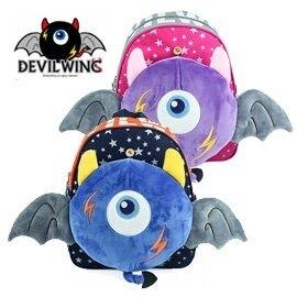韓國【DevilWing小惡魔】玩具幼兒防走失背包、書包 (藍/粉)