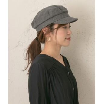 RODE SKO(ロデスコ) 帽子 キャスケット メルトンキャスケット