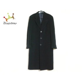 ジョルジオアルマーニ GIORGIOARMANI コート サイズ52REG メンズ 美品 黒 冬物 新着 20190812