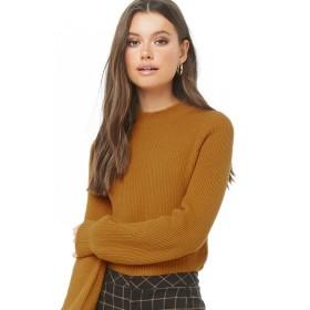 ニット・セーター - FOREVER 21 【WOMEN】 バルーンスリーブリブハイネックセーター