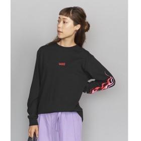 BEAUTY&YOUTH UNITED ARROWS / ビューティ&ユース ユナイテッドアローズ 【別注】<VANS(バンズ)>フレイムロゴロングスリーブTシャツ