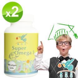【ONE加拿大 源萃倈】SuperOmega金鑽魚油(100顆x2)