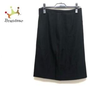 アルマーニコレッツォーニ ARMANICOLLEZIONI スカート サイズ42 M レディース 美品 黒 新着 20190812
