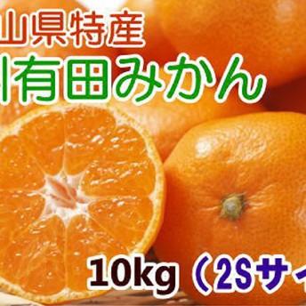 【厳選・産直】紀州有田みかん 10kg(2Sサイズ)(2S)