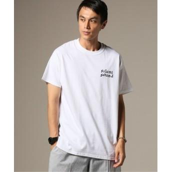 JOURNAL STANDARD relume SILENT SOUND / サイレントサウンド S/S ロゴTシャツ ホワイト M