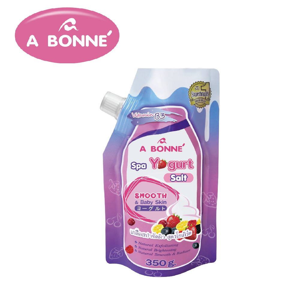 【A BONNE'】優格SPA身體去角質沐浴鹽