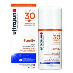 優佳ultrasun 倍護水感防曬乳SPF30 PA+++ 100ml