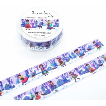 オリジナルマスキングテープ 色の構成 Christmas