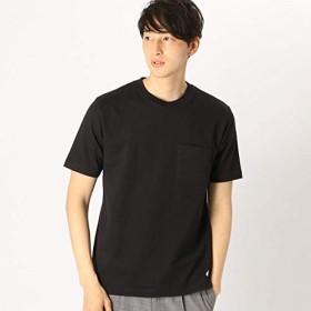コムサイズムメンズ(COMME CA ISM) <汗染み防止加工> ポケット付 Tシャツ【ブラック(05)/L】