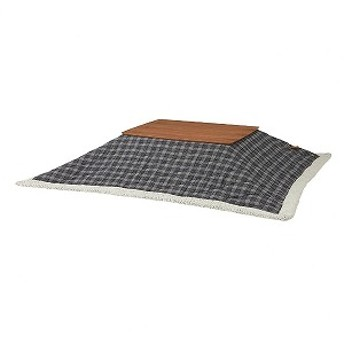 こたつ布団 [対応天板サイズ:約75×105cm /長方形] KK-126BL