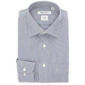 【THE SUIT COMPANY:トップス】【SUPER EASY CARE】ワイドカラードレスシャツ ストライプ 〔EC・FIT〕