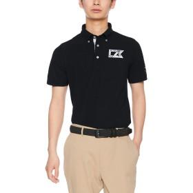 [カッターアンドバック] 鹿の子半袖シャツ CGMNJA15 メンズ BK00(ブラック) 日本 LL (日本サイズ2L相当)