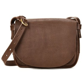 カバンのセレクション スロウ ボーノ ショルダーバッグ メンズ レディース 本革 A5 SLOW bono 49s129gh ユニセックス ダークブラウン フリー 【Bag & Luggage SELECTION】