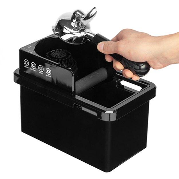 金時代書香咖啡 智慧型清洗把手粉渣盒 黑 220V HG1288BK