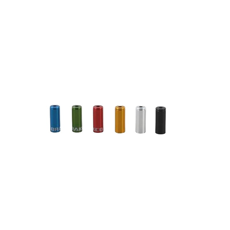 BRAKCO 變速鋁套 外管套 外管鋁套 CNC鋁合金 4mm CAPDA01(多色選擇一入)【飛輪單車】