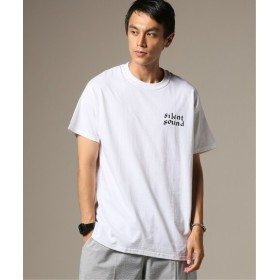 JOURNAL STANDARD relume SILENT SOUND / サイレントサウンド S/S ロゴTシャツ ホワイト XL