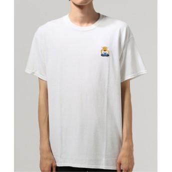 JOURNAL STANDARD 牛公刺繍Tシャツ ホワイト XL